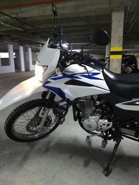 Honda Xr 150L solo 4800 km