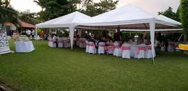 Alquiler de carpas,sillas, mesas,manteleria, vajilla, samovares fuente de chocolate, luces miniteca