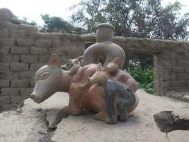 Artesanía en cerámica estilo Chavin.