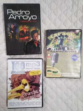 DVDS, MP3 REMATE 3 POR 40000