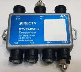 Multiswichet Aspen 3x4 para Directv