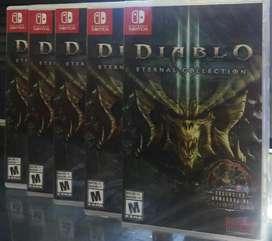 Diablo 3 Eternal Collection Nintendo Switch Nuevo Sellado Stock