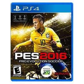 Pro Evolution Soccer Pes 2016 Ps4 Original Fisico Sellado