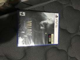 Juego ps5 village resident evil