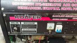 Vendo Generador 5000 wats/ cambio con congelador
