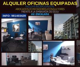 ALQUILER ESPACIOS Y OFICINAS EN MONTERRICO POLOHUNT