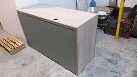 Cajón herramienta o recepción madera y acero