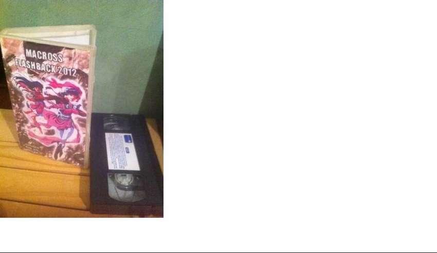 Pelicula Macross Flashback 2012 -vhs - Usado