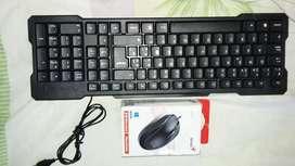 se vende teclado y maus nuevo