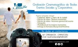 FOTOGRAFÍA GRABACIÓN DE VIDEO PARA BODAS