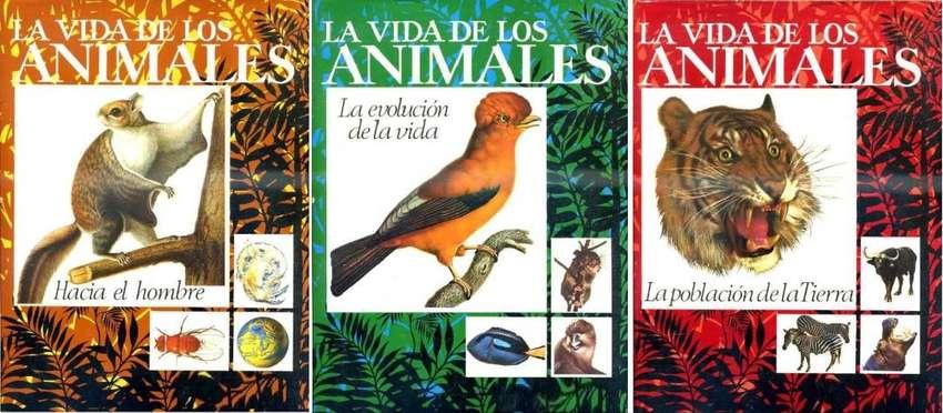 La Vida De Los Animales Enciclopedia de 3 Tomos. Editorial Planeta. Permuto, Propongan. 0