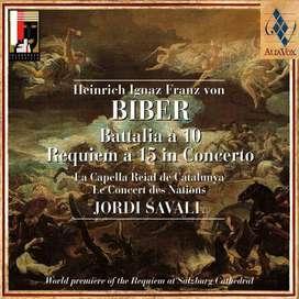 H.I.F von BIBER Battalia à 10 Requiem à 15 in Concerto - Jordi Savall
