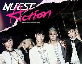CD kpop nu'est action