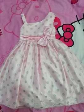 Vestido Rosado para Niña por Solo  50.000
