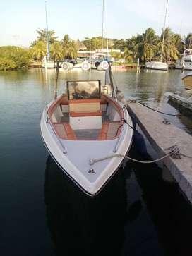 Vendo bote deportivo de 26pies