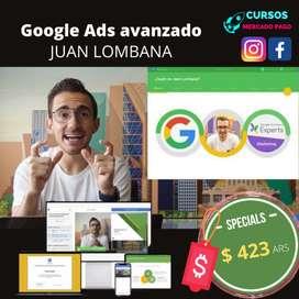 Curso en línea de Google Ads avanzado Juan Lombana