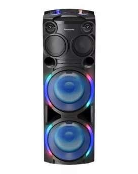 TORRE O EQUIPO PANASONIC ULTIMA GENERACIÓN BLUETOOTH USB RADIO CD MP3 60 ESTILOS DE LUCES LED MULTICOLOR NUEVO FACTURA