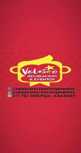 VELASCO RECREACION Y EVENTOS SAS