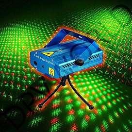 mini laser con controlador de voz proyector luz led regulador de velocidad