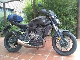 Yamaha MT 07 2017 primer dueño