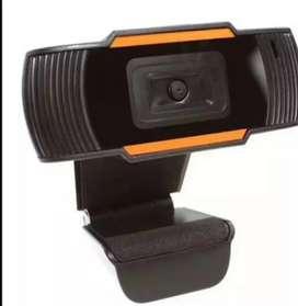 Cámara web HD1080 con micrófono incorporado ideal para teleconferencias, clases virtuales