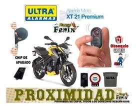 Alarma para Moto con Chip de Apagado por Alejamiento marca Ultra WhatsApp 312 439 8990 Bogota