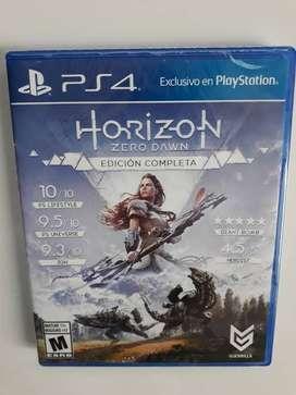 HORIZON ZERO DAWN ¨EDICIÓN COMPLETA¨ (PS4)