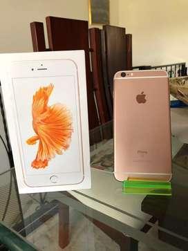 iPhone 6s Plus 128gb rose Gold usado importado