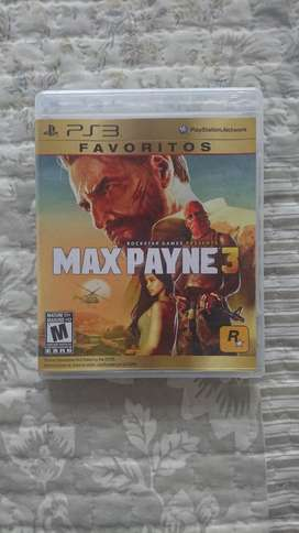Max Payne 3 Playstation 3