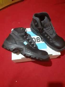Zapato Botin De Trabajo Ombu Ozono, Calzado De Seguridad Con Puntera De Acero