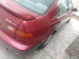 Vendo honda Civic ex automático 1995