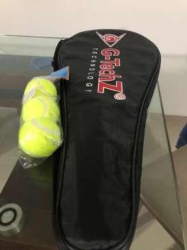 Raqueta de Tenis nueva, con 3 pelotas de Tenis
