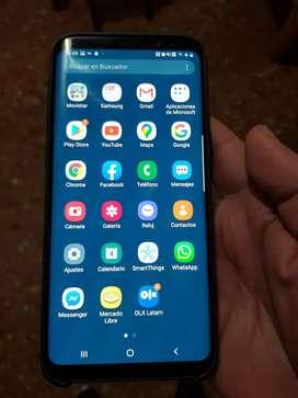 Samsung Galaxy S8+ Plus, movistar, impecable en caja. Zona San Martín