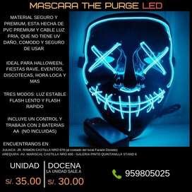 MASCARAS LED