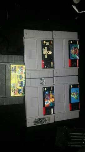 Juegos Cartuchos Snes Super Nintendo Nes