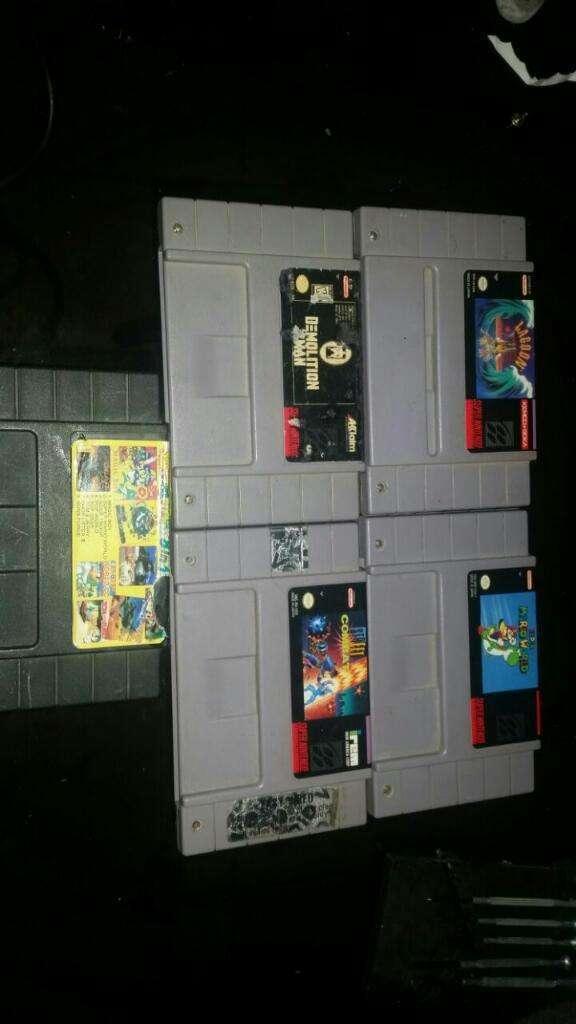 Juegos Cartuchos Snes Super Nintendo Nes 0