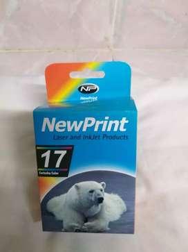 Se vende cartucho de color  para impresora hp láser, cartucho # 17