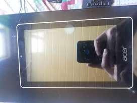 Tablet Acer para repuestos no funciona tactil