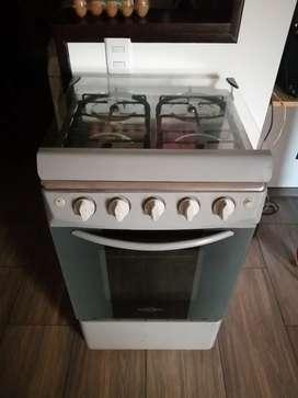 Estufa a gas con horno