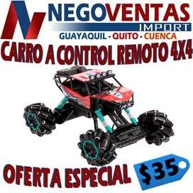 CARRO A CONTROL REMOTO 4X4 EN OFERTA