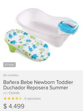 Bañera con ducha/ casi nueva en su caja original
