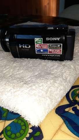 Sony Handycam HDR-CX130: con bolso