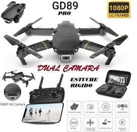 Drone GD89 Xpro 1080P Estuche camara dual sensores optico estable