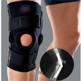 Rodillera Ortopédico Abierta Ajustable Velcro Con Bisagra