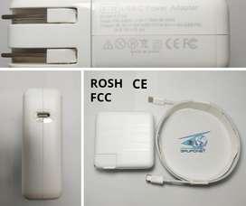 Cargador Macbook Tipo C Certificado 61w 20.2v 4.3a Nuevo