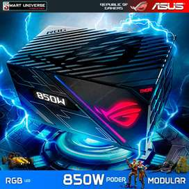 Fuente de Poder Gamer ASUS ROG THOR 850W Modular Aura RGB