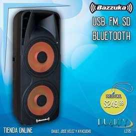 Parlante Bazzuka Grande *usb,fm,sd,bluetooth*