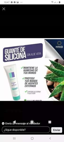 Guante de silicona de HND
