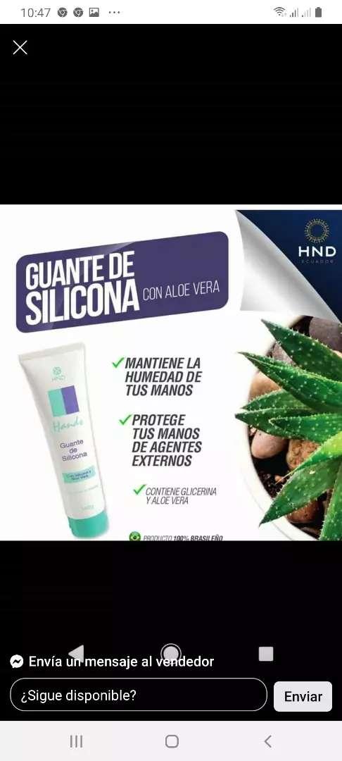 Guante de silicona de HND 0