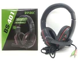 Audifonos Diadema By Soul 401 Con Microfono
